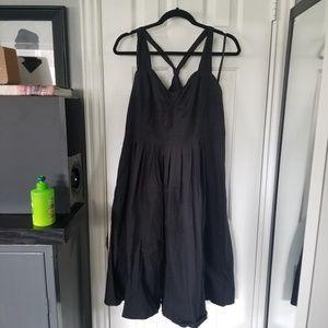 LANE BRYANT Black Dress. SZ 16